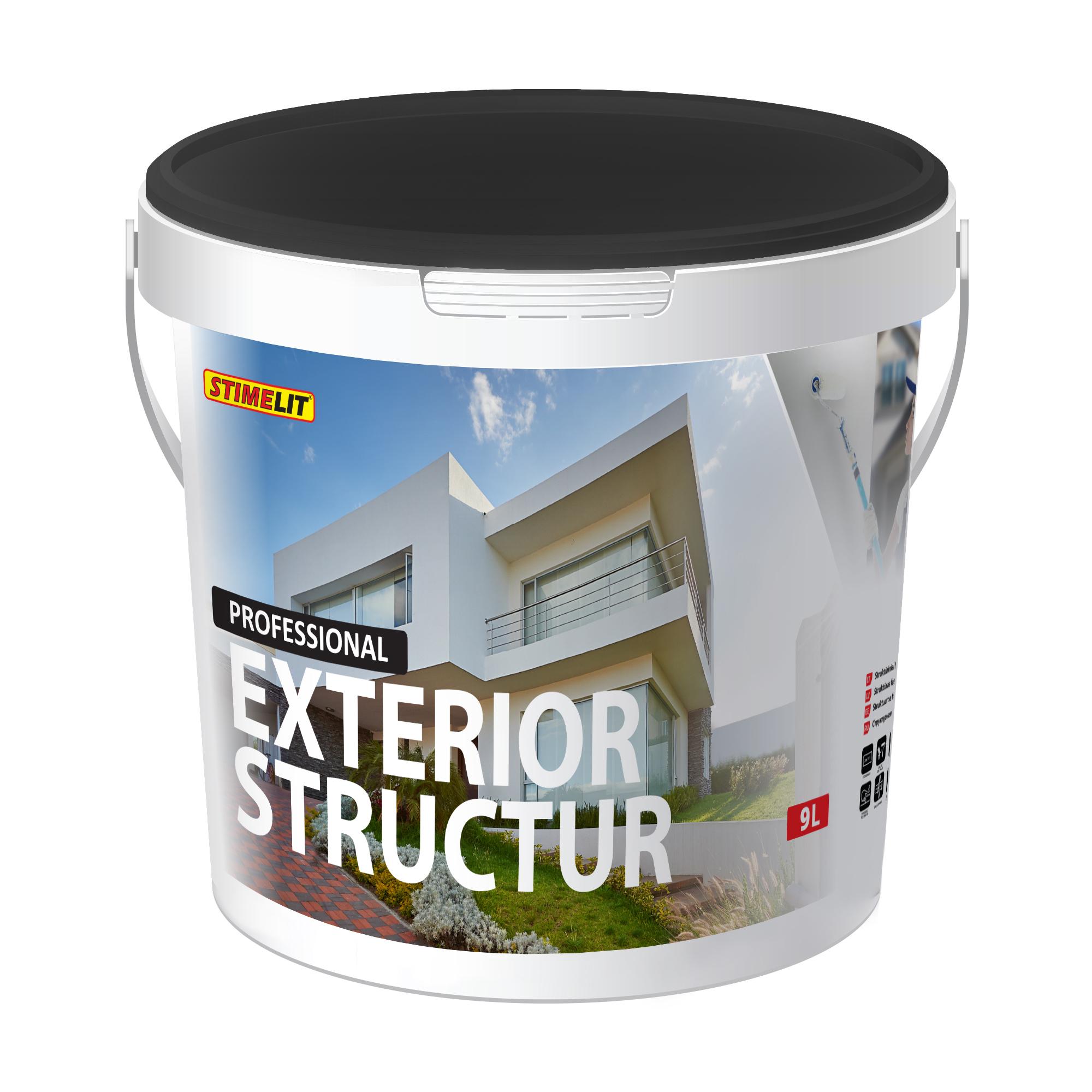 EXTERIOR STRUCTUR  Struktūriniai fasado dažai