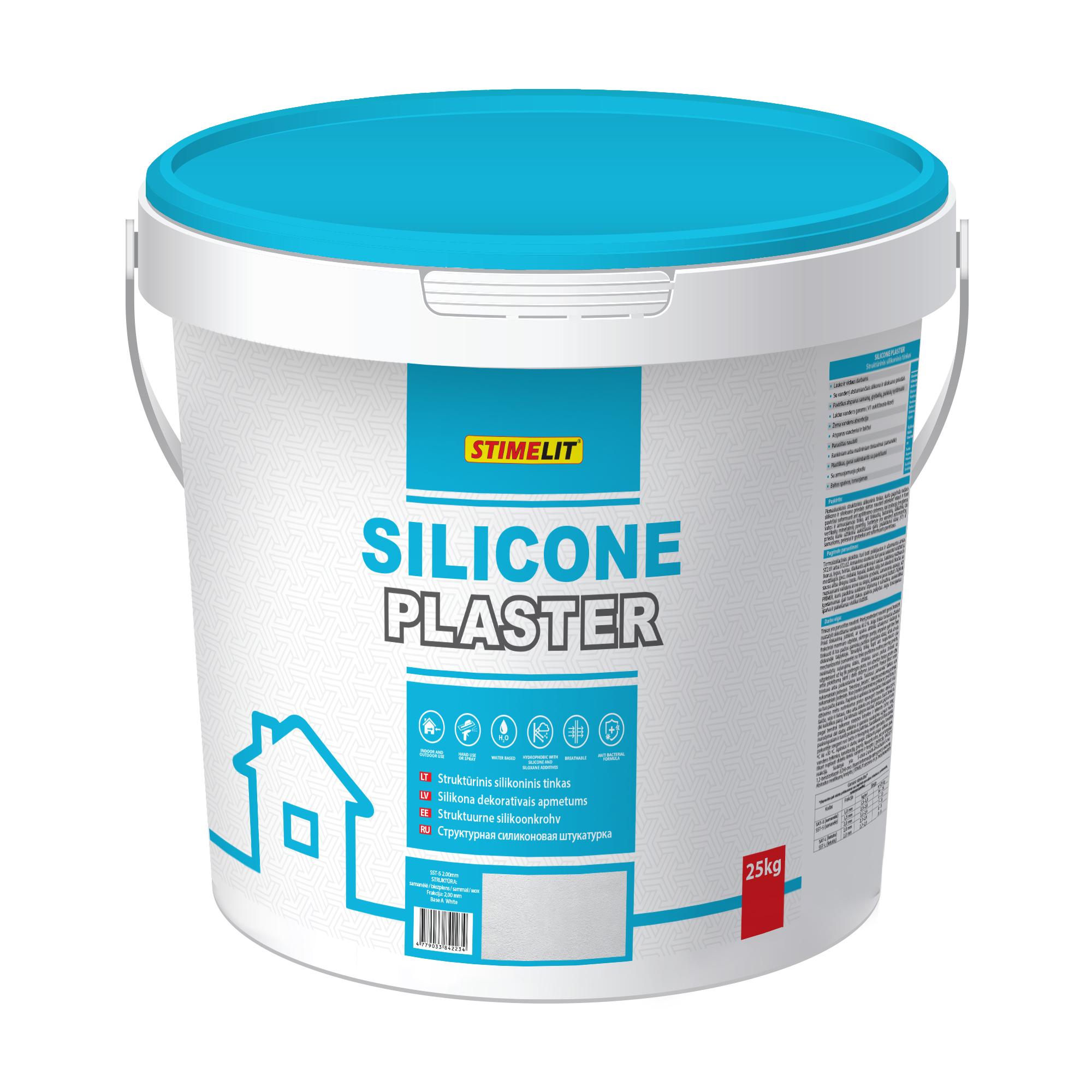 SILICONE PLASTER Silikona dekoratīvais apmetums