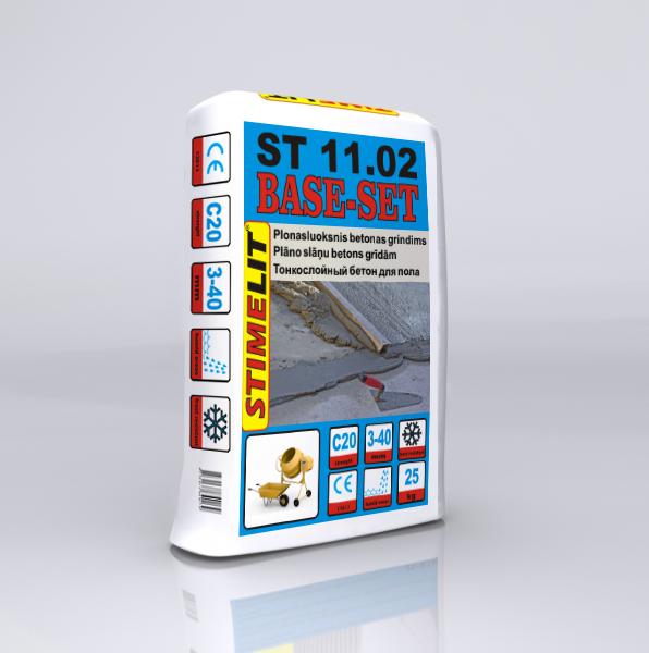 ST11.02 Plonasluoksnis betonas grindims