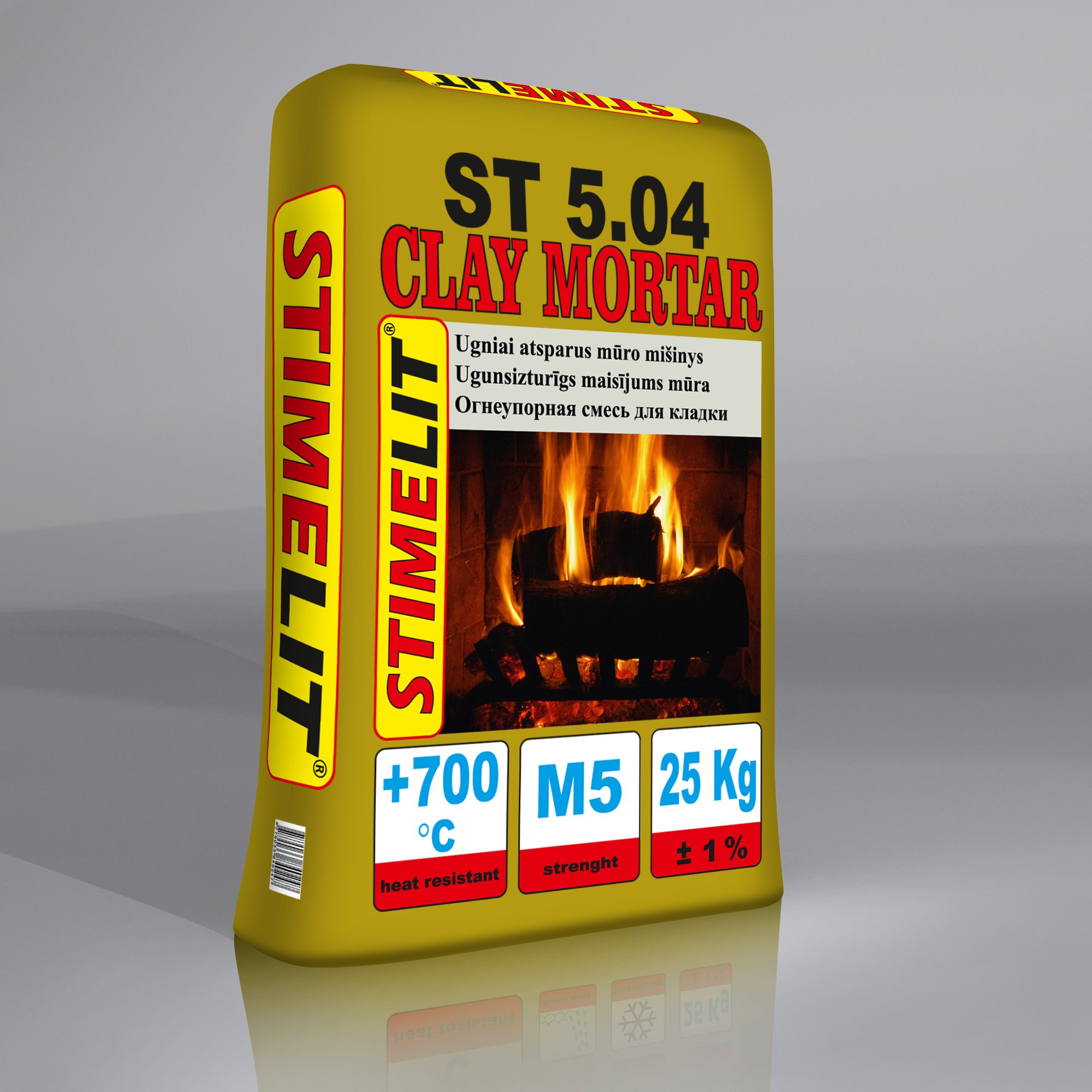 ST5.04 Огнеупорная смесь для кладки