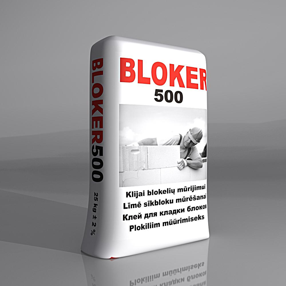 BLOKER500 Клей для кладки блоков