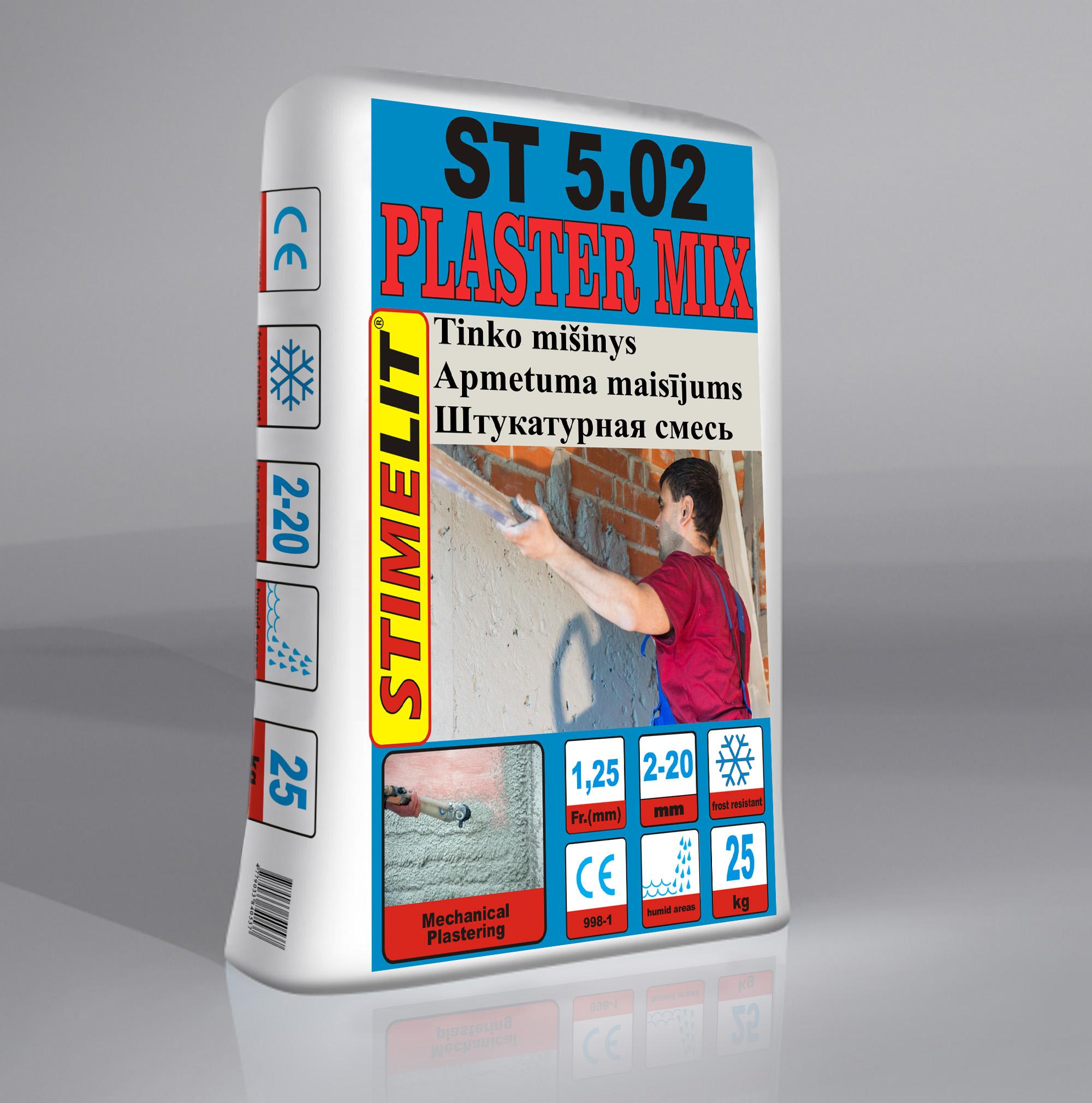 ST5.02 Biezkārtainais apmetuma maisījums