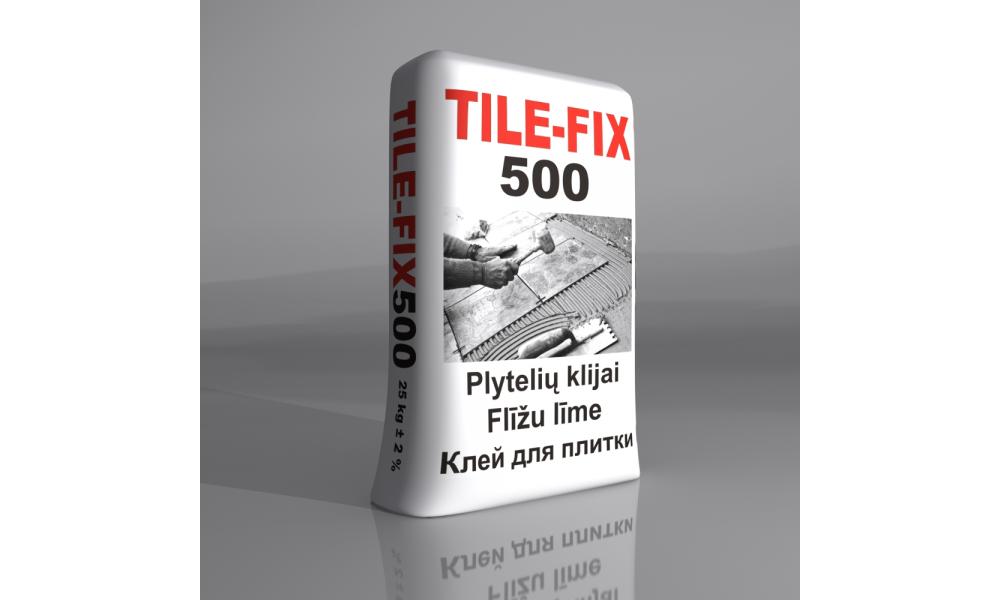 TILE FIX500 Plytelių klijai